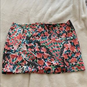 Lilly Pulitzer sequin mini skirt